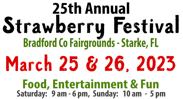 Bradford County Florida Strawberry Festival